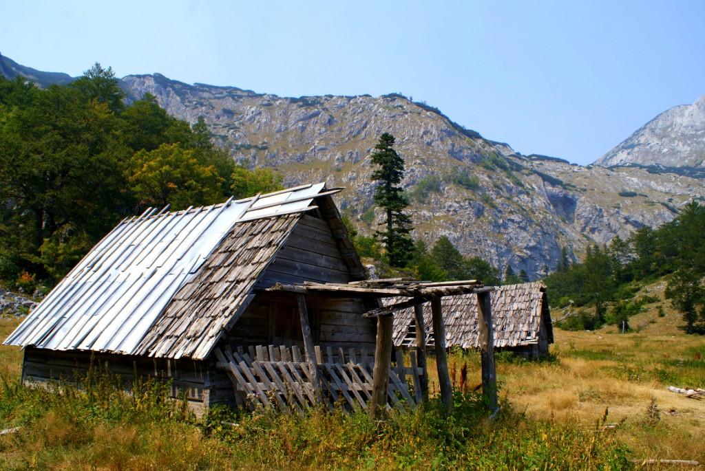 Zdjęcia: Góry Durmitor, Północna Czarnogóra, Gdzieś u podnóża gór Durmitor, CZARNOGÓRA