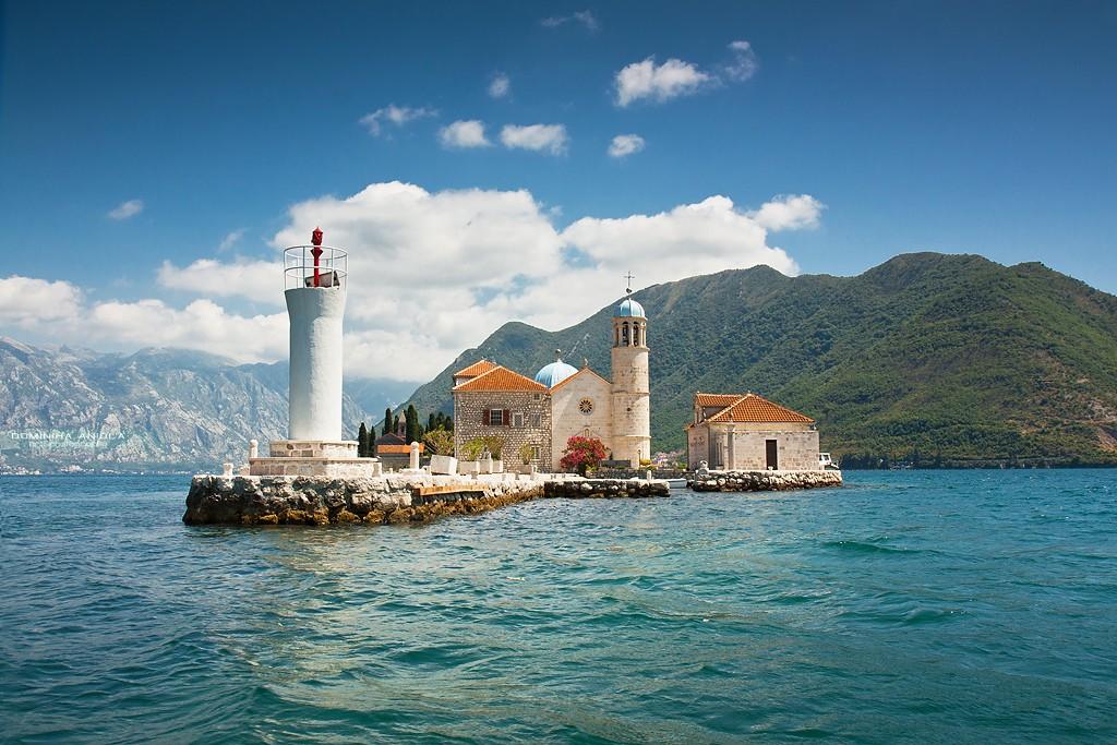 Zdjęcia: Gospa od Skrpjela, Zatoka Kotorska, Gospa od Skrpjela, CZARNOGÓRA