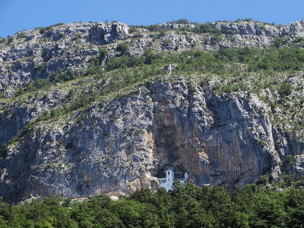 Zdjęcia: .., środkowa  Czarnogóra, klasztor Ostrog, CZARNOGÓRA