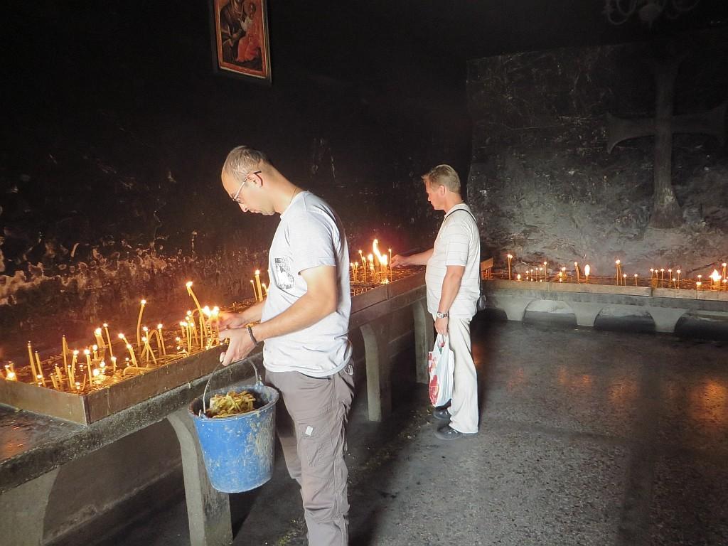 Zdjęcia: ., środkowa  Czarnogóra, klasztor Ostrog, CZARNOGÓRA