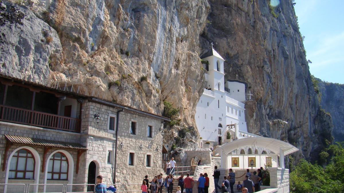 Zdjęcia: klasztor, Ostrog, ARCHTEKTURA, CZARNOGÓRA
