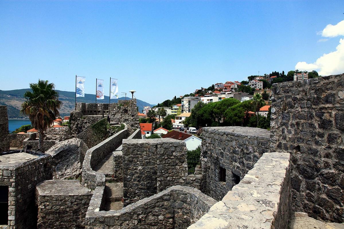 Zdjęcia: Herceg Novi , Zatoka Kotorska, Spacer po murach, CZARNOGÓRA