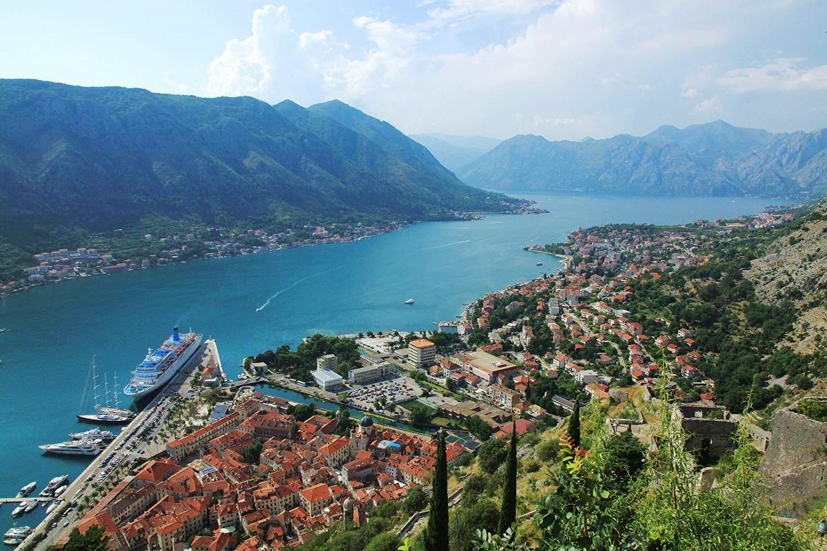 Zdjęcia: Twierdza św. Jana , / Kotor, Zatoka Kotorska, CZARNOGÓRA