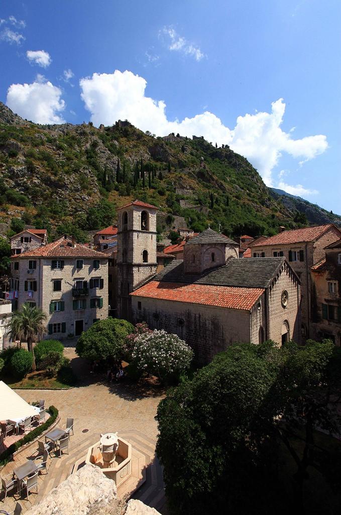 Zdjęcia: Kotor, Zatoka Kotorska, Kościół Św, Marii, CZARNOGÓRA