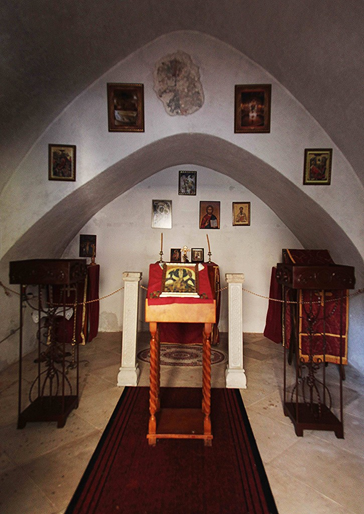 Zdjęcia: Sveti Stefan , Budva , Kaplica, wnętrze, CZARNOGÓRA
