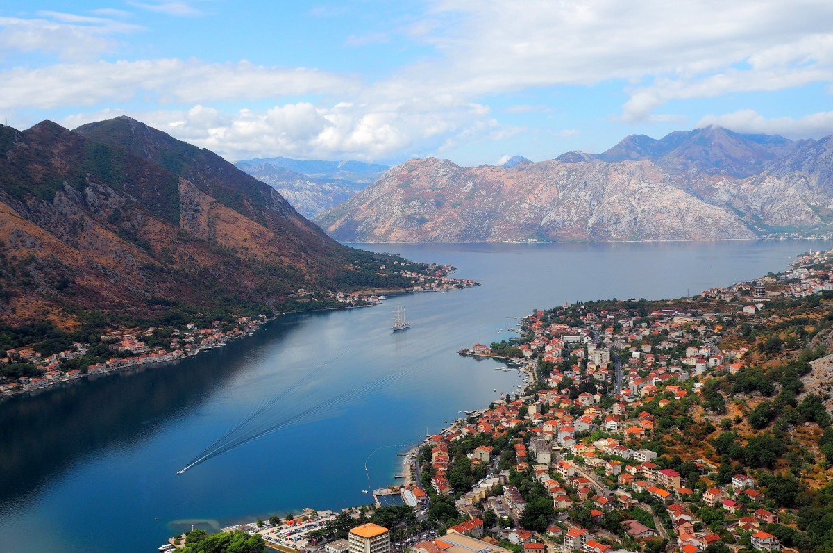 Zdjęcia: Kotor, Boka Kotorska, Montenegro..., CZARNOGÓRA