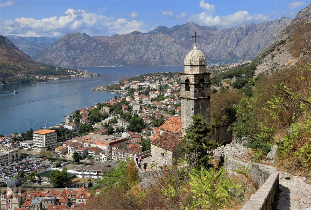 Zdjęcia: Kotor, Zatoka Kotorska, Crkva Svete Gospe od zdravlja..., CZARNOGÓRA