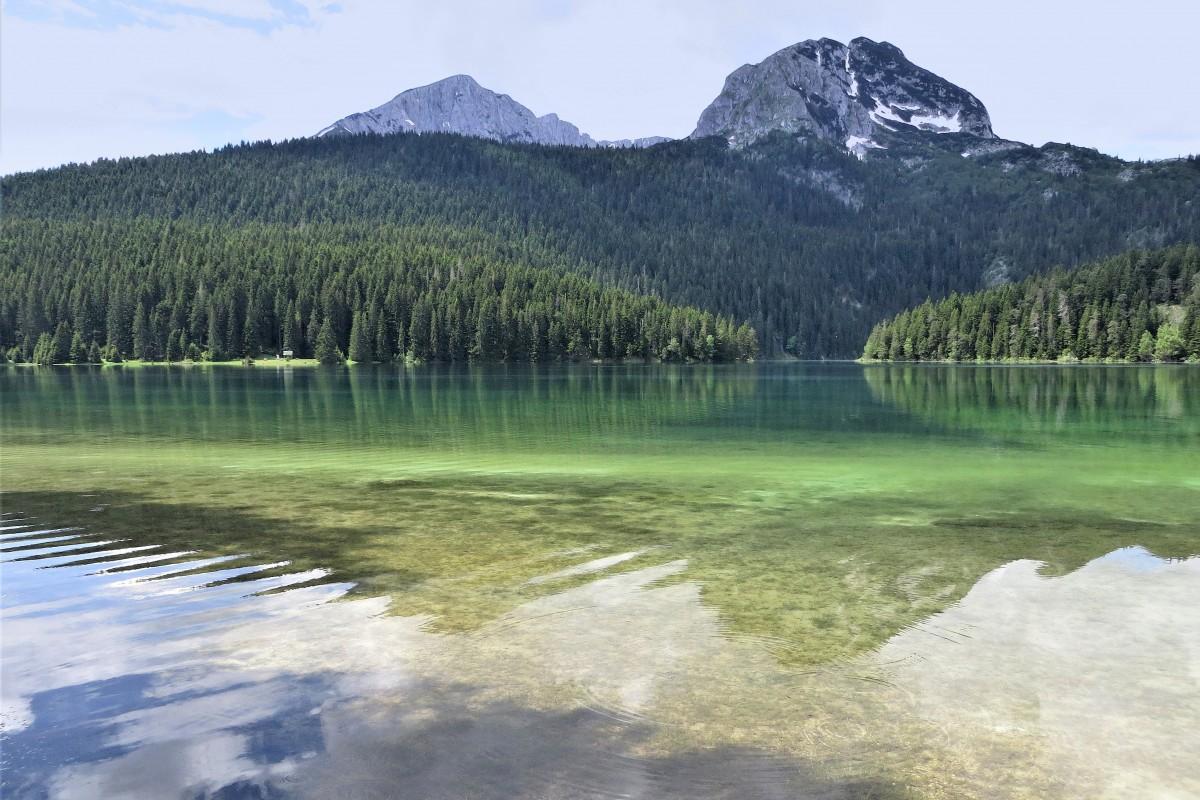 Zdjęcia: Crno Jezero, Durmitor, czarne - tylko z nazwy..., CZARNOGÓRA