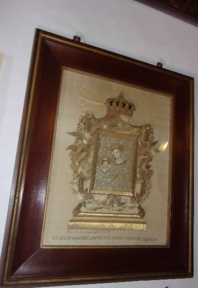 Zdjęcia: Wyspa Matki Bożej ze Skały, Boka Kotorska, Obraz wyszyty włosami (do artykułu), CZARNOGÓRA