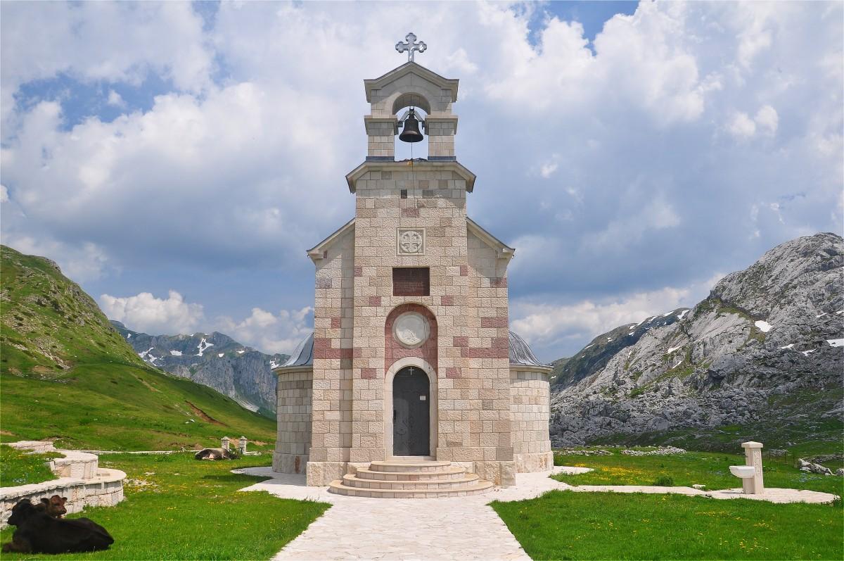 Zdjęcia: Morača, Kolasin, Cerkiew w górach, CZARNOGÓRA