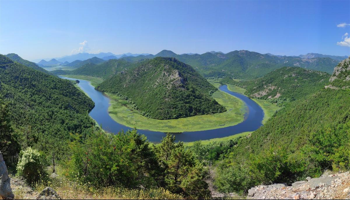 Zdjęcia: Rzeka Crnojevića, Cetinje, Krajobrazy Czarnogóry, CZARNOGÓRA