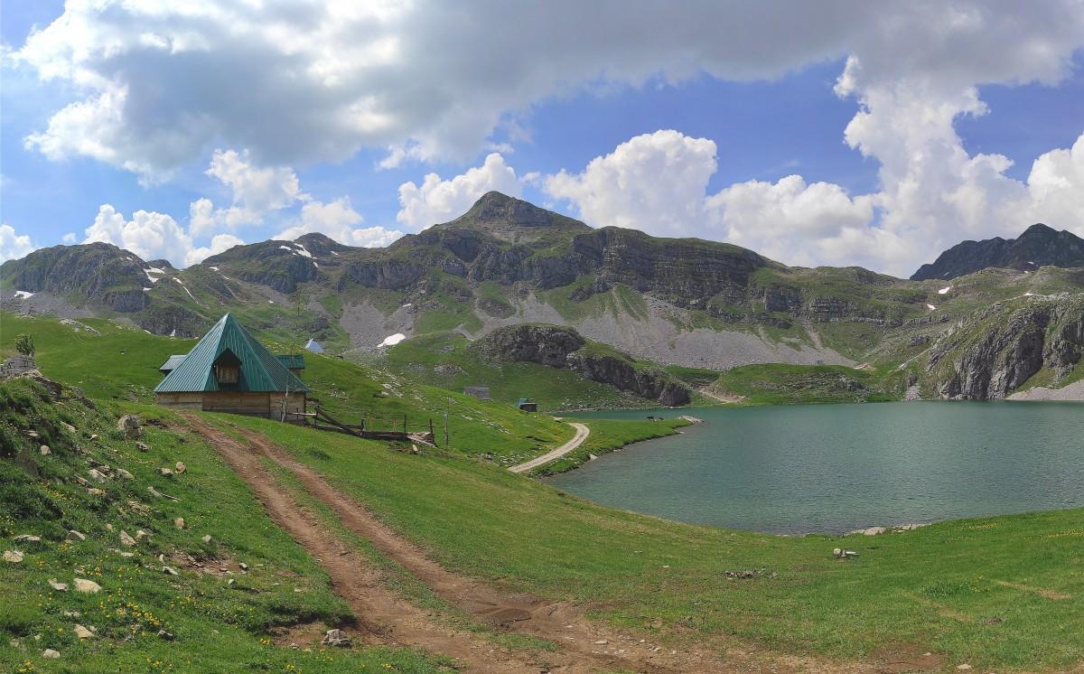 Zdjęcia: Moračke planine, Kolasin, Nad jeziorem Kapetanovo , CZARNOGÓRA