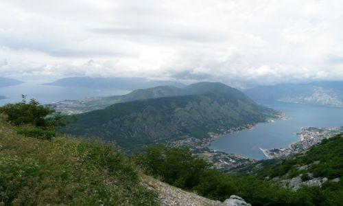CZARNOGÓRA / - / droga do Cetyni (Cetinje) / Boka Kotorska