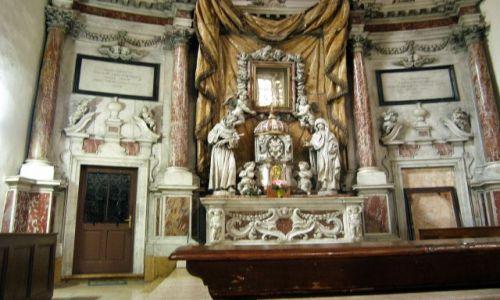 Zdjecie CZARNOGÓRA / - / Kotor / Barokowy oltarz