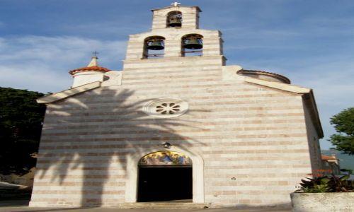 Zdjęcie CZARNOGÓRA / - / Budva / Cerkiew pod wezwaniem Trojcy Św