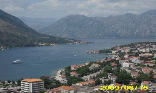 Zdjecie CZARNOGÓRA / - / Kotor / Panorama Kotoru
