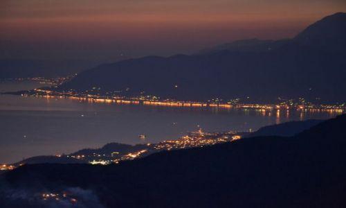 Zdjecie CZARNOGÓRA / Przed Zatoką Kotorską / Droga dojazdowa do Zatoki Kotorskiej od strony Herceg Novi / Wyprawa rowerowa - BAŁKANY 2011