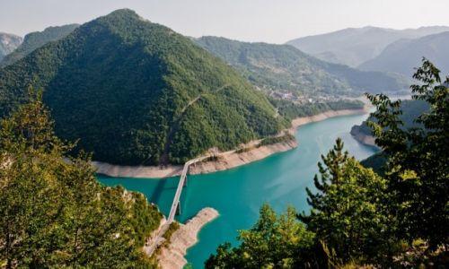 Zdjęcie CZARNOGÓRA / - / Czarnogóra / Jezioro Pivsko
