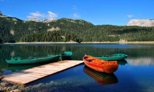 CZARNOGÓRA / Góry Durmitor / Jezioro Czarne / Góry Durmitor