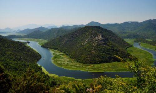 Zdjecie CZARNOGÓRA / Cetinje / Rijeka Crnojevica / Niesamowita Cza