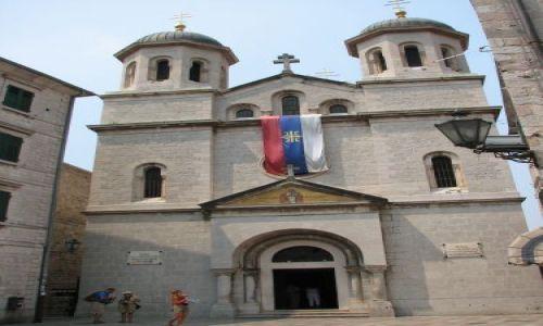 Zdjęcie CZARNOGÓRA / brak / Montenegro / historyczne zabudowania miasta Kotor (na liscie UNESCO)
