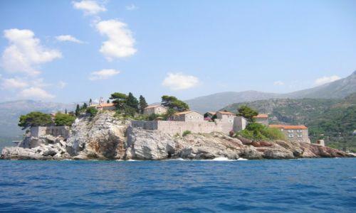 Zdjęcie CZARNOGÓRA / Czarnogóra / Święty Stefan / Wyspa