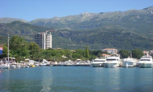 Zdjecie CZARNOGÓRA / Adriatyk / BUDVA / Port