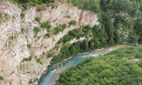 Zdjecie CZARNOGÓRA / północna Czarnogóra / . / przełom Tary
