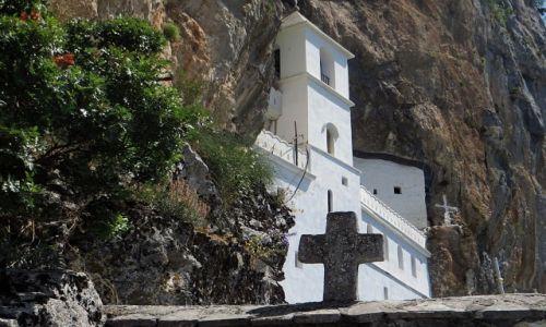 Zdjęcie CZARNOGÓRA / środkowa  Czarnogóra / . / klasztor Ostrog