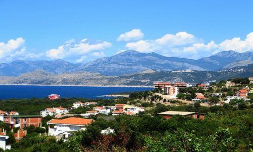 Zdjęcie CZARNOGÓRA / południowa Czarnogóra / Ulcinj / panorama miasta