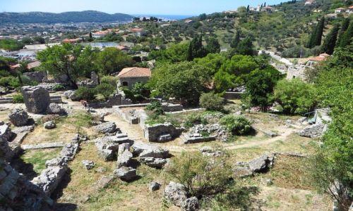 Zdjęcie CZARNOGÓRA / południowa Czarnogóra / Stary Bar / panorama Starego Baru