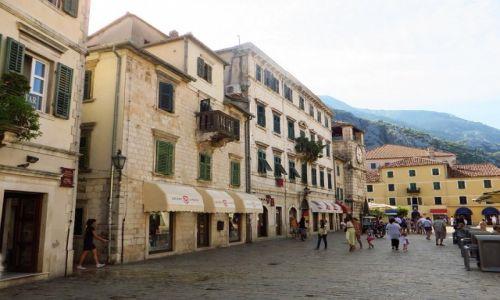 Zdjęcie CZARNOGÓRA / Boka Kotorska / Kotor / stare miasto