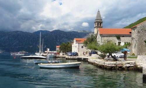 Zdjecie CZARNOGÓRA / Boka Kotorska / Perast / Perast