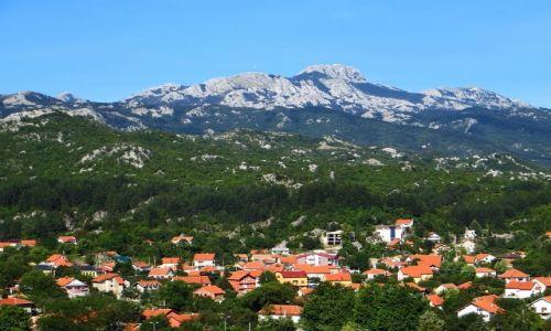 Zdjęcie CZARNOGÓRA / północna Czarnogóra / trasa Budva - P.N. Lovcen / panorama Cetinje