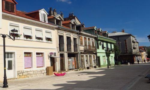 Zdjęcie CZARNOGÓRA / północna Czarnogóra / Cetinje / centrum Cetinje