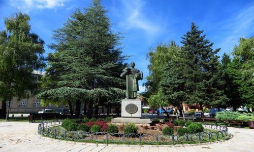 Zdjęcie CZARNOGÓRA / północna Czarnogóra / Cetinje / pomnik Ivana Crnojevicia