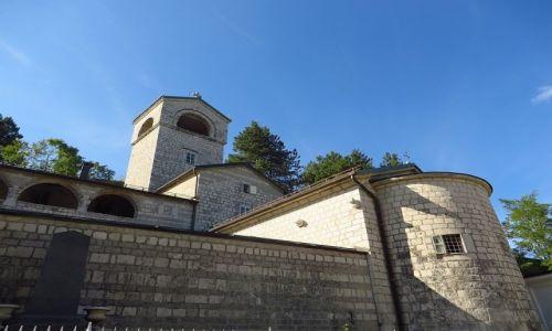 Zdjęcie CZARNOGÓRA / północna Czarnogóra / Cetinje / Monastyr Cetinski