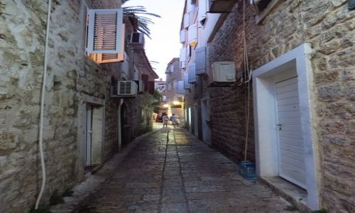 Zdjęcie CZARNOGÓRA / północna Czarnogóra / Budva / stare miasto
