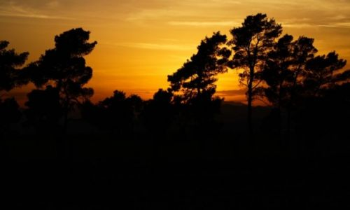 CZARNOGÓRA / Podgorica / Zachód Słońca nad J. Szkoderskim / TOYOTA KOBOS ADVENTURE 2014