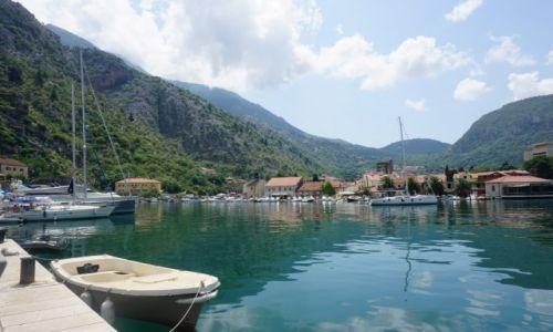 Zdjecie CZARNOGÓRA / Czarnogóra / Kotor / Boka Kotorska Marina