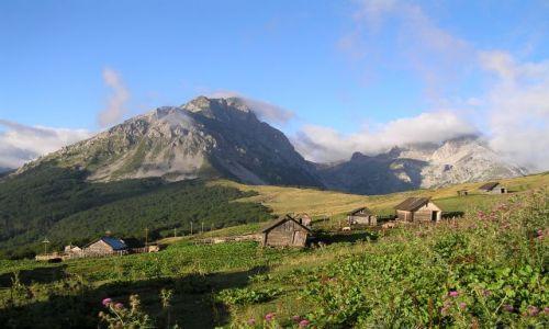 Zdjęcie CZARNOGÓRA / Komovi / Pasmo Komovi / Vosojevicki vrh o poranku