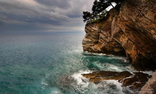 Zdjecie CZARNOG�RA / Petrovac / Petrovac / The Rock Coast