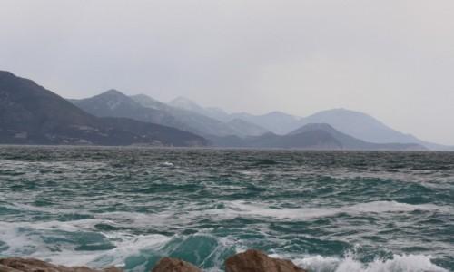 CZARNOG�RA / Budva / Pla�a Ploce / Widoczek na morze