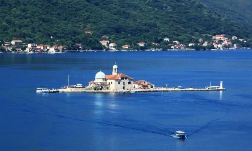 Zdjęcie CZARNOGÓRA / Zatoka Kotorska / Kotor / Wyspa Matki Boskiej na Skale