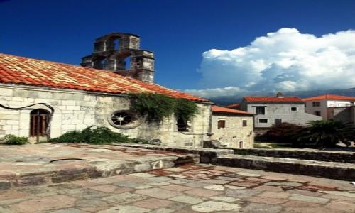 Zdjęcie CZARNOGÓRA / Budva / Stari Grad / Zaułki starego miasta