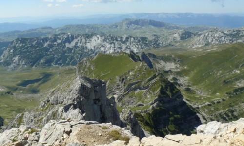 CZARNOG�RA / Durmitor / Bobotov kuk / Bobotov Kuk - widok ze szczytu I