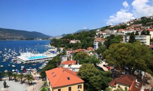 Zdjecie CZARNOG�RA / Zatoka Kotorska / Herceg Novi / Widok z twierdz