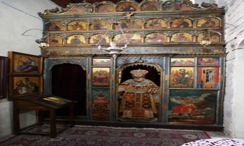 Zdjęcie CZARNOGÓRA / Kotor / Stare Miasto / Kaplica w kościele św Łukasza