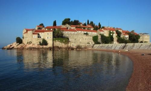 Zdjęcie CZARNOGÓRA / Budva  / Sveti Stefan / Wyspa - hotel