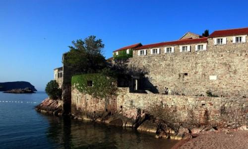 Zdjecie CZARNOGÓRA / Budva  / Sveti Stefan  / Hotel za murami